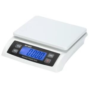 66 Lb 30 Kg Digital Postal Scale Shipping Packages Parcel Weighing Balance