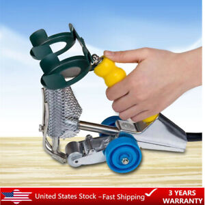 Hand 110v Double thread Woodworking Leather Sewing Flooring Stitcher Machine