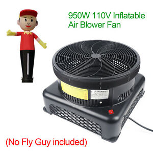950w Air Tube Puppet Inflatable Sign Sky Fly Guy Blower Fan Dancer Wind Tube Man