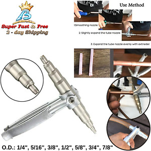 Copper Pipe Expanding Hand Tool Tubing Expander Air Conditioner Fridge Swaging
