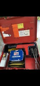 Hilti Dx 350 Power Hammer W case Lots Of Extras Fully Functional See Pics