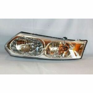 Tyc 20 6428 00 Left Headlight Assembly For 2003 2007 Saturn Ion New Fits 2004 Saturn Ion