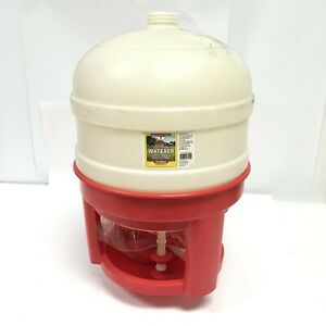 Little Giant 8 Gallon Plastic Dome Poultry chicken Waterer Domewtr8 New In Box