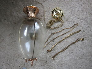 1890s Hanging Show Globe Light Fixture Apothecary Pharmacy Display Chandelier