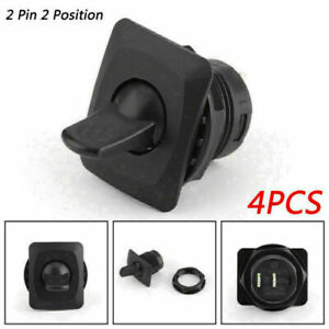 4pcs R13 402a Spst Toggle Switch 2 Pin 2 Position on off 6a 125vac 3a 250 Ce