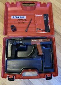Hilti Dx 351 Fully Automatic Powder Actuated Tool With Case Kit Dx351 Complete