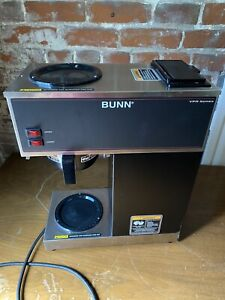 Bunn Vpr Series Commercial Coffee Maker Tested Works No Decanters