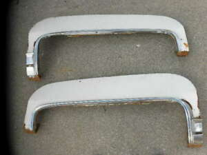 1971 To 76 Cadillac Coupe Deville Factory Rear Fender Skirts Left Amp Right Side