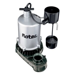 Flotec Fpzt7450 Submersible High Output Sump Pump 3 4 Hp Vertical Switch