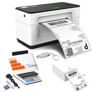 Munbyn Usb Thermal Shipping Label Printer Postal Scale For Ups Usps Shipping