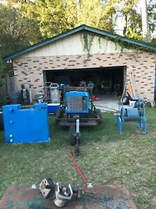 Truck Mount Carpet Cleaning Machine Everest Hp Comes With Hose Reel And Tank