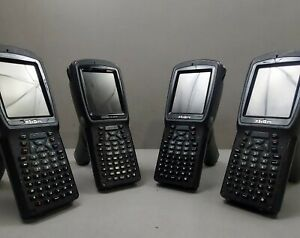 Lot Of 4 Psion Teklogix 7527c g2 Workabout Pro 3