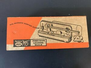 Lyman Ohaus M5 Precision Reloading Scale Beam Type Powder Bullet Scale New??? $149.99