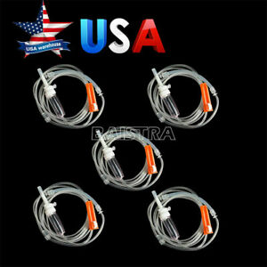 5x Dental Implant Irrigation Tube 280cm Disposable Fit Nouvag Surgical Motor Usa
