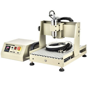 4 Axis Cnc 3040t Router Engraving Machine Engraver Ballscrew Wood Metal Carving