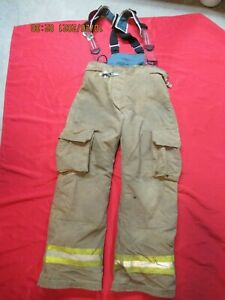Lion Starfield 40 X 33 Firefighter Turnout Bunker Gear Pants Rescue Tow Towing