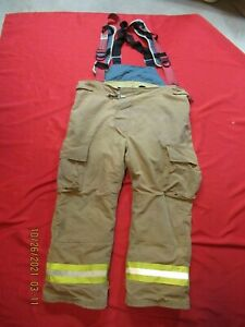 Lion Starfield 50 X 30 Firefighter Turnout Bunker Gear Pants Rescue Tow Towing