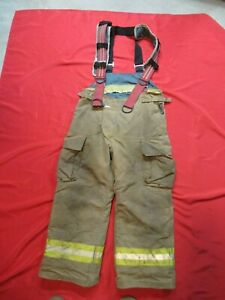 Lion Starfield 36 X 27 Firefighter Turnout Bunker Gear Pants Rescue Tow Towing
