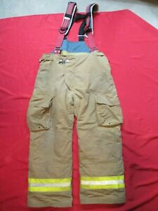 Lion Starfield 46 X 30 Firefighter Turnout Bunker Gear Pants Rescue Tow Towing