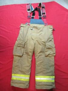 Lion Starfield 48 X 28 Firefighter Turnout Bunker Gear Pants Rescue Tow Towing