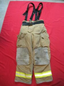 Mfg 2005 Globe Gxtreme 38 X 32 Firefighter Turnout Bunker Pants Fire Rescue