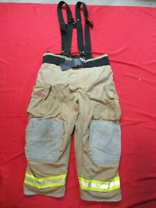 Mfg 2006 Globe Gxtreme 46 X 28 Firefighter Turnout Bunker Pants Fire Rescue
