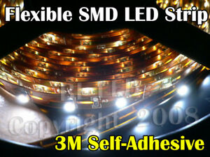 25cm Smd Flexible Ribbon 12v Led Strip Neon Light White