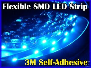 25cm Smd Flexible Ribbon 12v Led Strip Neon Light Blue