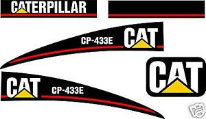 Caterpillar Cp 433e Vibratory Compactor Graphics Kit