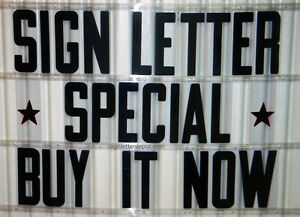 8 On 8 7 8 Condensed Changeable Letters For Outdoor Marquee Portable Signs