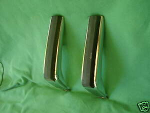 1973 Chevrolet Monte Carlo Rear Bumper Guards Nos