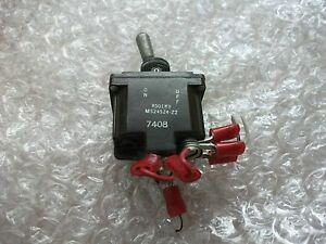 Aircraft On off Toggle Switch 8501k9