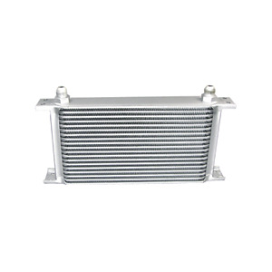 Cx Universal 19 Row Engine transmission 10 An Inlet Outlet Aluminum Oil Cooler