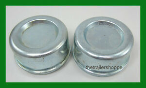 Dust Grease Cap Cover For 2 72 Trailer Hubs Axles