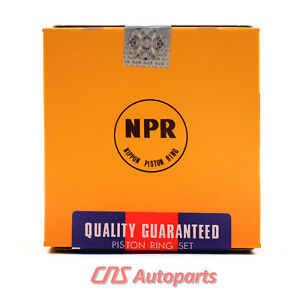 Fits Honda Civic New Npr Engine Piston Ring Set Swh304400
