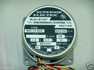 Brand New Superior Electric M091 fd 6009 Slo syn Stepping Motor Cnc