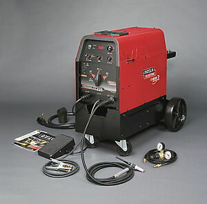 Lincoln Precision Tig 225 Ready Pak With Cart K2535 2