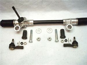 Complete Install Kit Mustang Ii Manual Rack And Pinion Street Rod Steering Steer