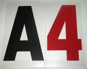 Set 4 Inch On 5 060 Flat Rigid Marquee Sign Letters