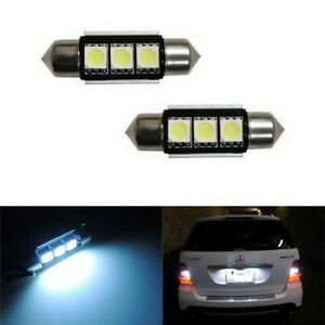 Xenon White 6418 C5w Error Free Led Bulbs For Euro Car License Plate Lights