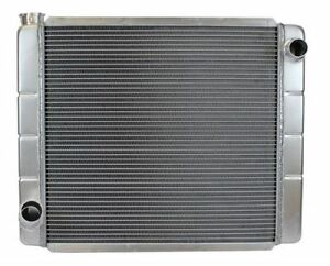 19 X 24 Inch Ford Mopar Dodge Style All Aluminum Universal Race Radiator