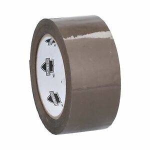 72 Rolls Brown Tan Packaging Packing Tape Shipping 2 2 3 Mil 110 Yd 330