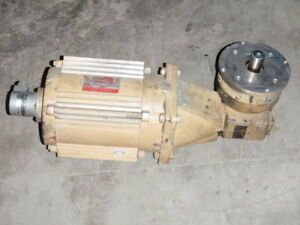 General Electric Ac Motor 5k184wx20396p W Reducer _ 5k184wx2o396p