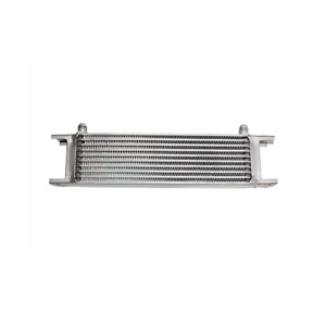 Universal Engine transmission Aluminum Oil Cooler 10 Row 6 An Inlet Outlet