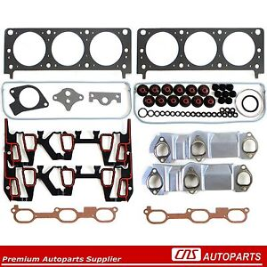96 99 Gm Chevy Oldsmobile Pontiac 3 4l V6 Cylinder Head Gasket Set