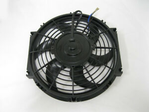 10 Street Rod Radiator Electric Cooling Fans Universal Low Profile Curved Blade