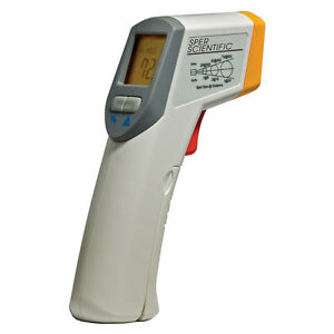 Infrared Ir Thermometer Gun 8 1 Sper Scientific 800102