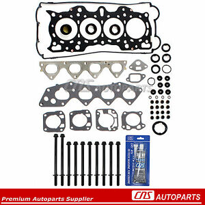 Ref Hs9698p B18a1 B18b1 90 01 Acura Integra 1 8l Mls Head Gasket Set Bolts Kit