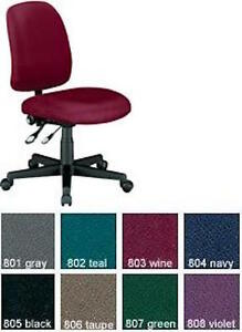 New Ofm Computer Office Chairs Posture Task Adjustable Ht Armless Office Chairs