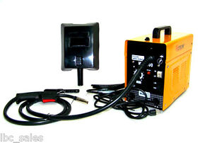 Electric Mig Welder Machine Flux Wire Mig Welding 100 No Gas Weld